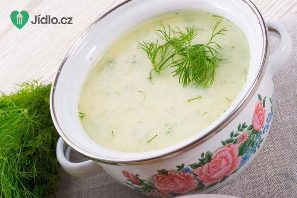 Koprová polévka bez lepku recept