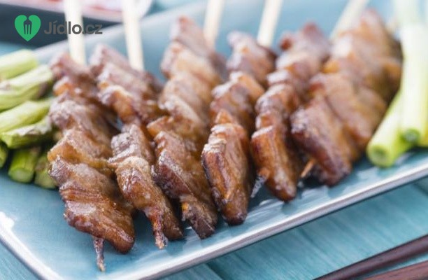 Korejské hovězí špízy recept