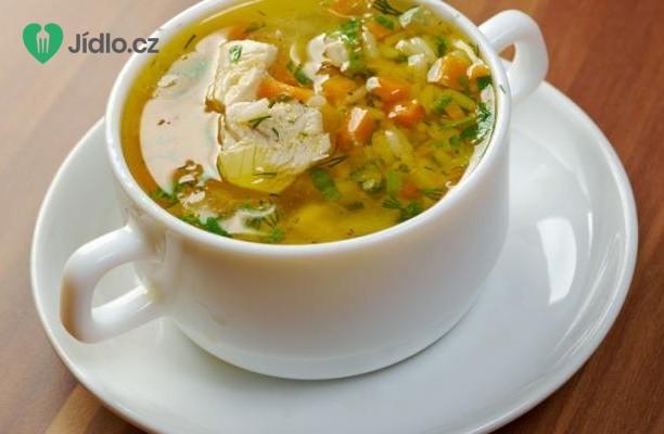 Krůtí polévka s rýží a zeleninou recept