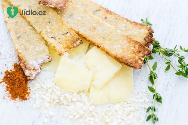 Křehké pečivo se sýrem recept