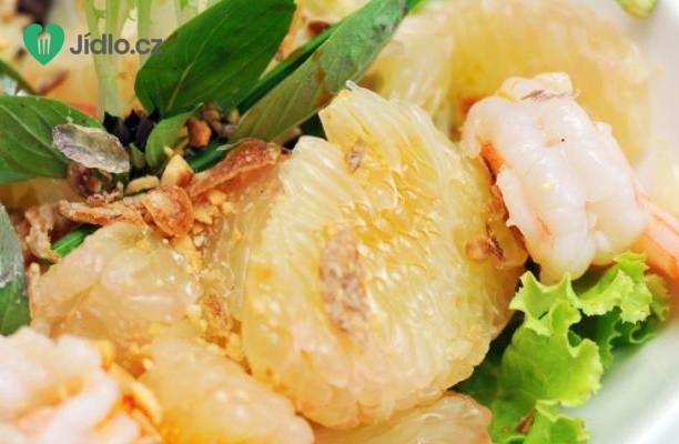 Recept Krevetový salát s pomelem