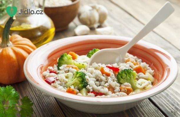 Kroupový  salát s octem balsamico recept
