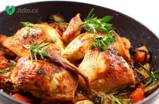 Kuře s  jarní zeleninou recept