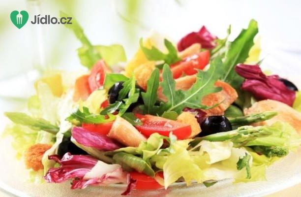Recept Kuře s jarním salátem