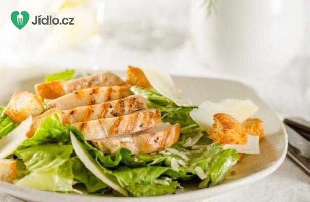 Kuřecí Caesar salát recept