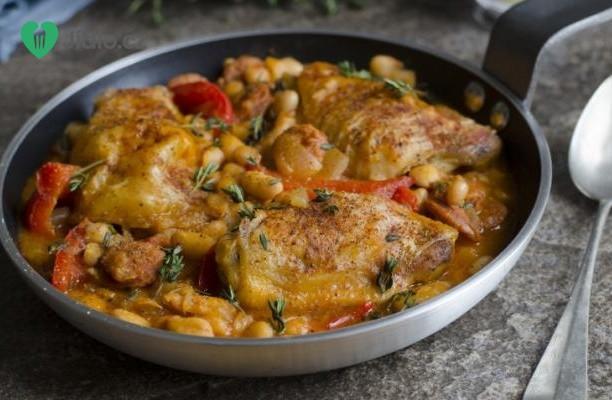 Kuřecí chilli s papričkami chipotle recept