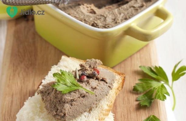 Recept Kuřecí játrová paštika