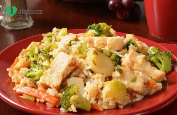 Kuřecí rýžová mísa Teriyaki recept