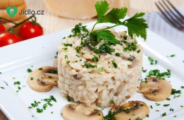 Kuřecí rizoto  s houbami recept