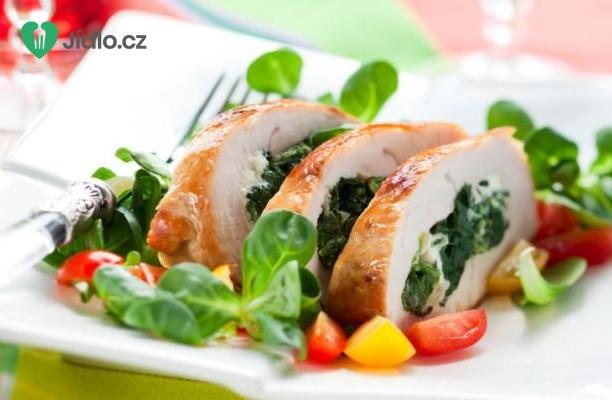 Kuřecí roláda se špenátem recept