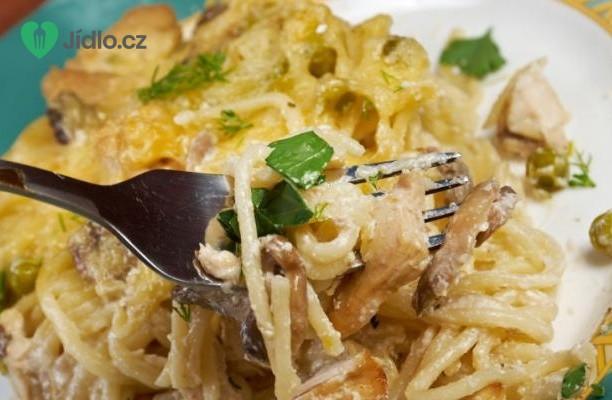 Recept Kuřecí tetrazzini