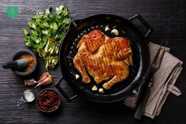Kuře na česneku recept