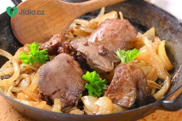 Kuřecí játra s rýžovými nudlemi recept