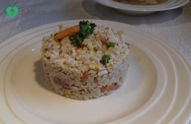 Kuřecí rizoto se zeleninou recept