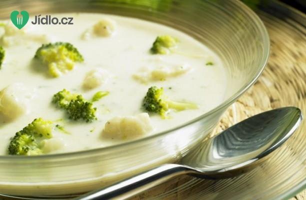 Květáková polévka s brokolicí recept