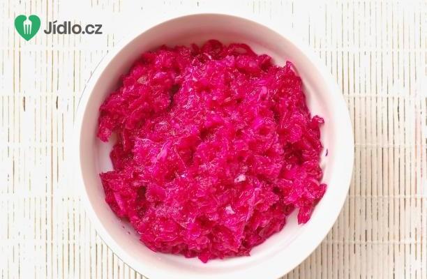 Kysané zelí s červenou řepou recept
