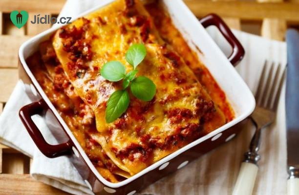 Lasagne s mletým hovězím masem recept