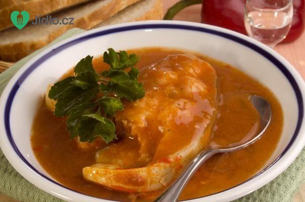 Maďarská slepičí polévka recept