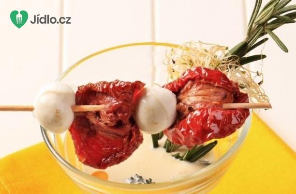 Marinovaná Mozzarella recept