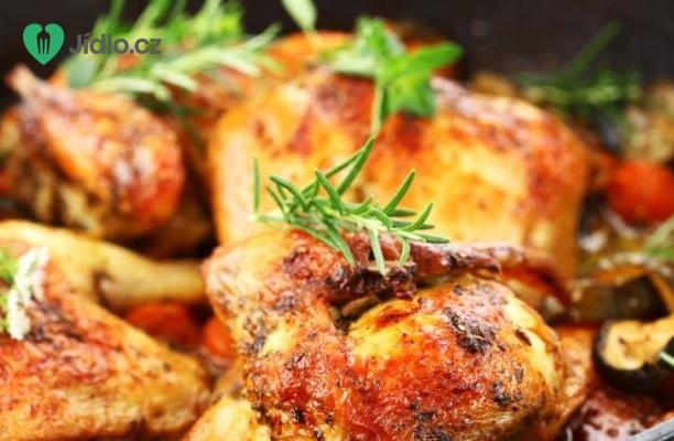 Marinované kuře a křupavé smažené knedlíky recept