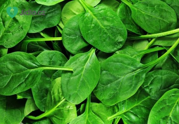 Mražený listový špenát recept