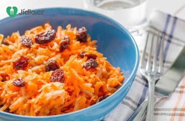 Mrkvový salát s rozinkami recept