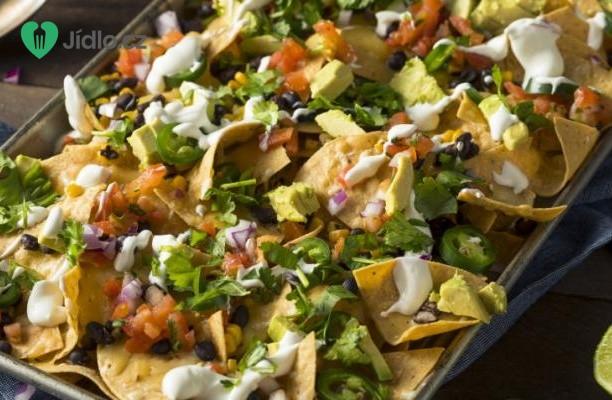 Nachos s mexickými sýry recept