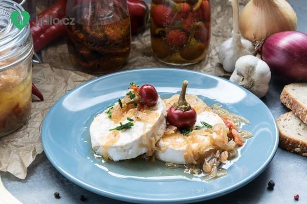 Nakládaný hermelín recept