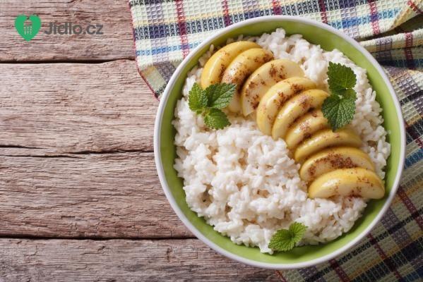 Nákyp s rýží a jablky recept