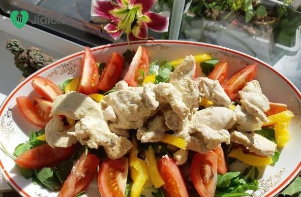 Naložená kuřecí prsa v chutné omáčce recept