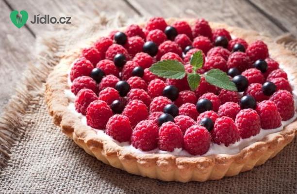 Nepečený  malinový koláč recept