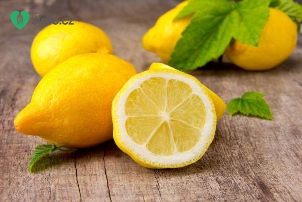 Nepečené citronové cukroví recept