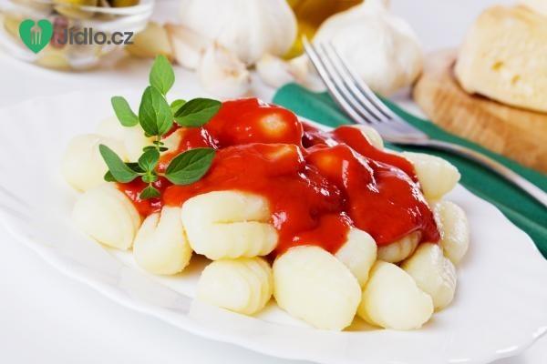 Noky v rajčatovém vývaru recept