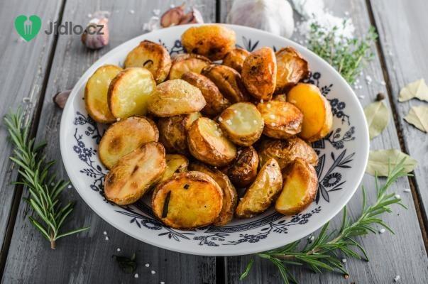Nové brambory pečené ve slupce recept
