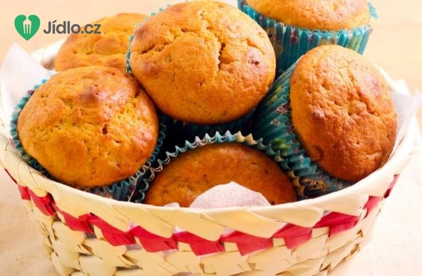 Recept Ořechové cupcakes