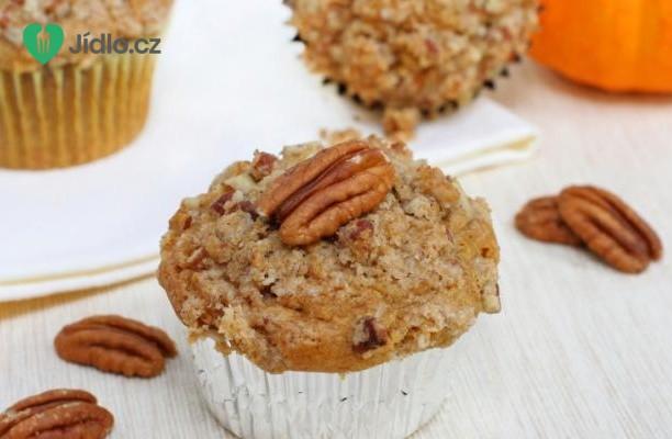Recept Ořechové muffiny