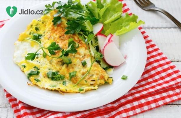 Omeleta s letní zeleninou recept