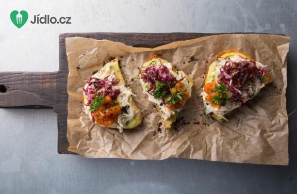 Opečený chléb s krabím masem recept
