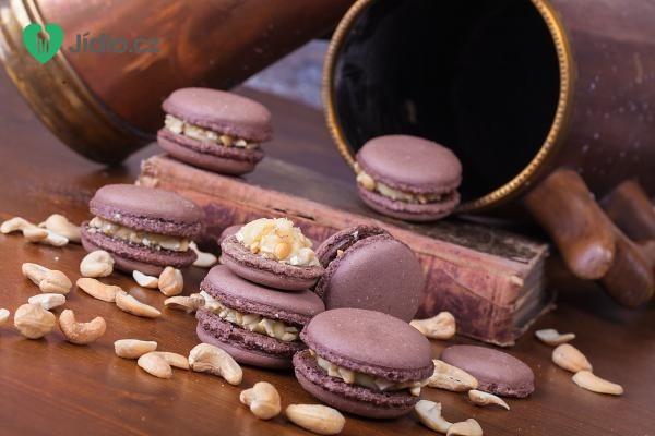 Ořechové makronky recept