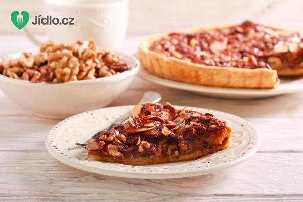 Ořechovo karamelový koláč recept