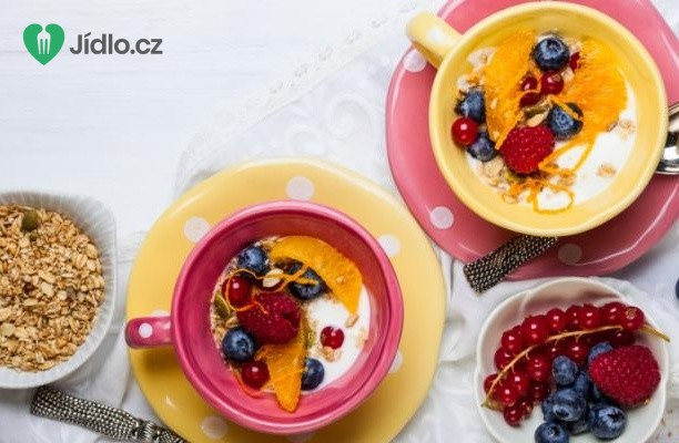 Recept Ovesná kaše s ovocem