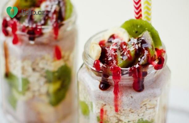 Ovesné vločky s ovocem recept