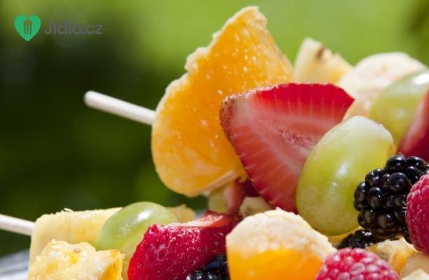 Ovocné špízy recept