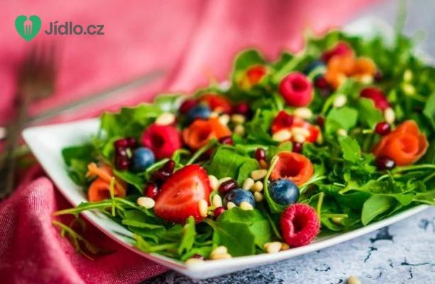 Ovocný salát s rukolou recept
