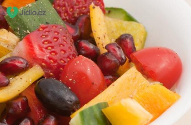 Ovocno zeleninový sálat recept