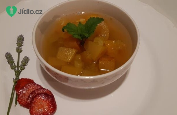 Ovocný kompot s rebarborou recept