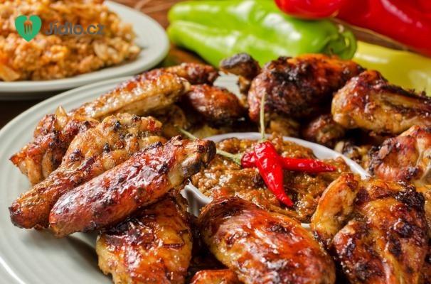 Pálivá kuřecí křidélka recept