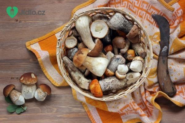 Party houbové koláčky recept