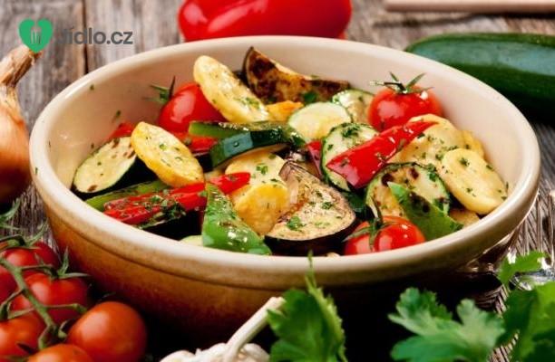 Recept Pečená podzimní zelenina
