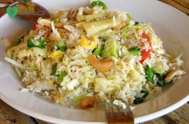 Pečená thajská kuřecí rýže recept